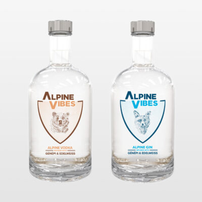 Alpine Vibes Gin & Vodka
