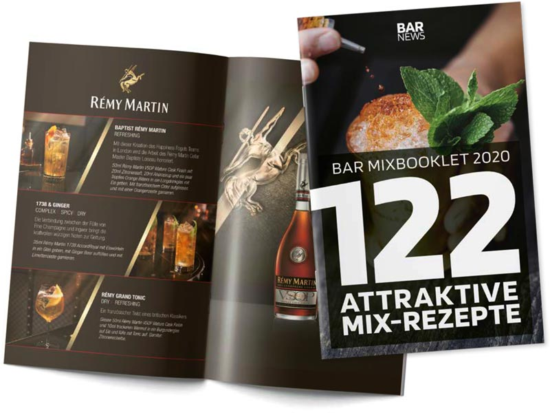 Bar Mixbooklet - 122 attraktive Mix-Rezepte