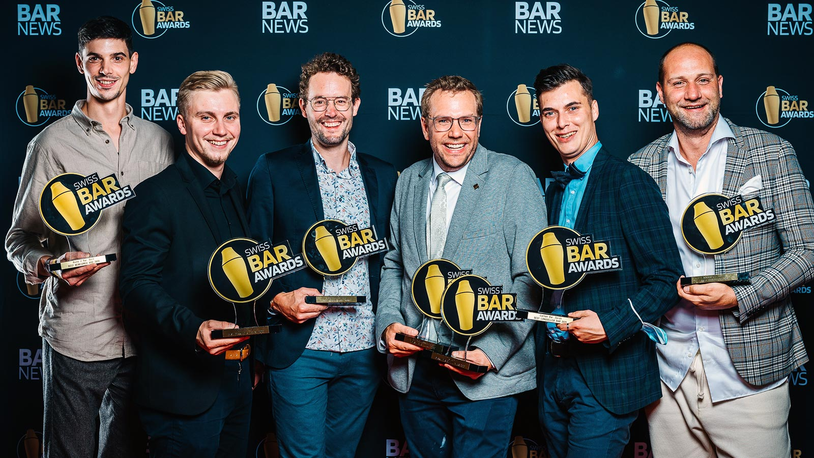 Gewinner SWISS BAR AWARDS 2020
