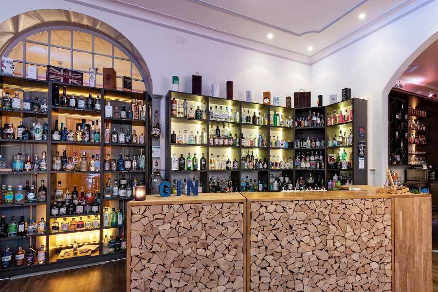 Gin-Auswahl Terrace Bar