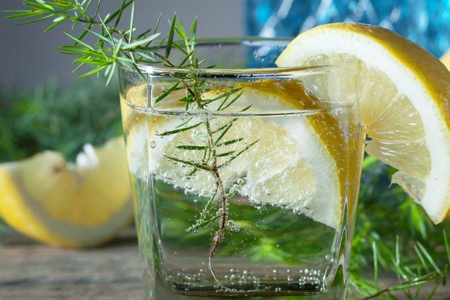 Gin pur