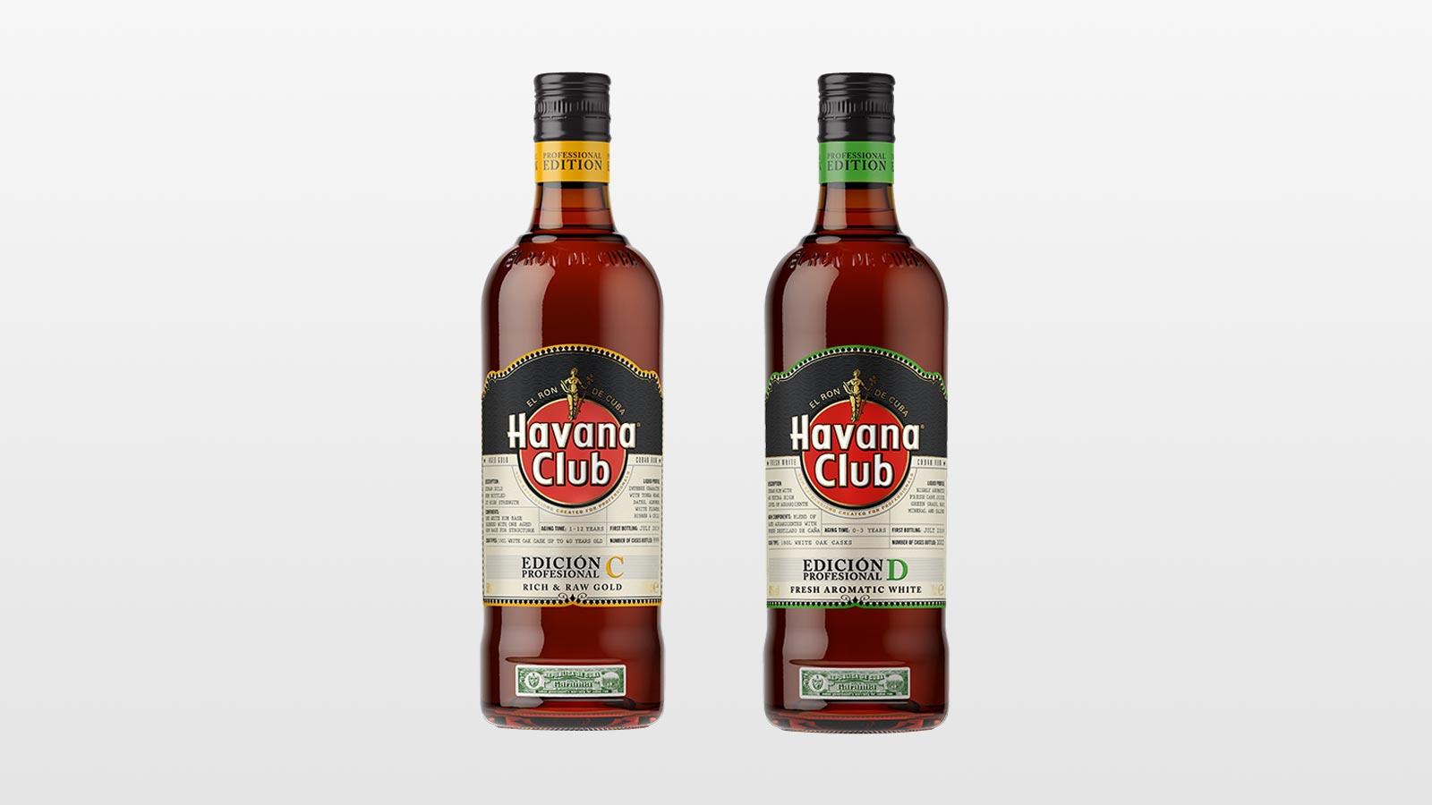 Havana Club Professional Edición C & Edición D